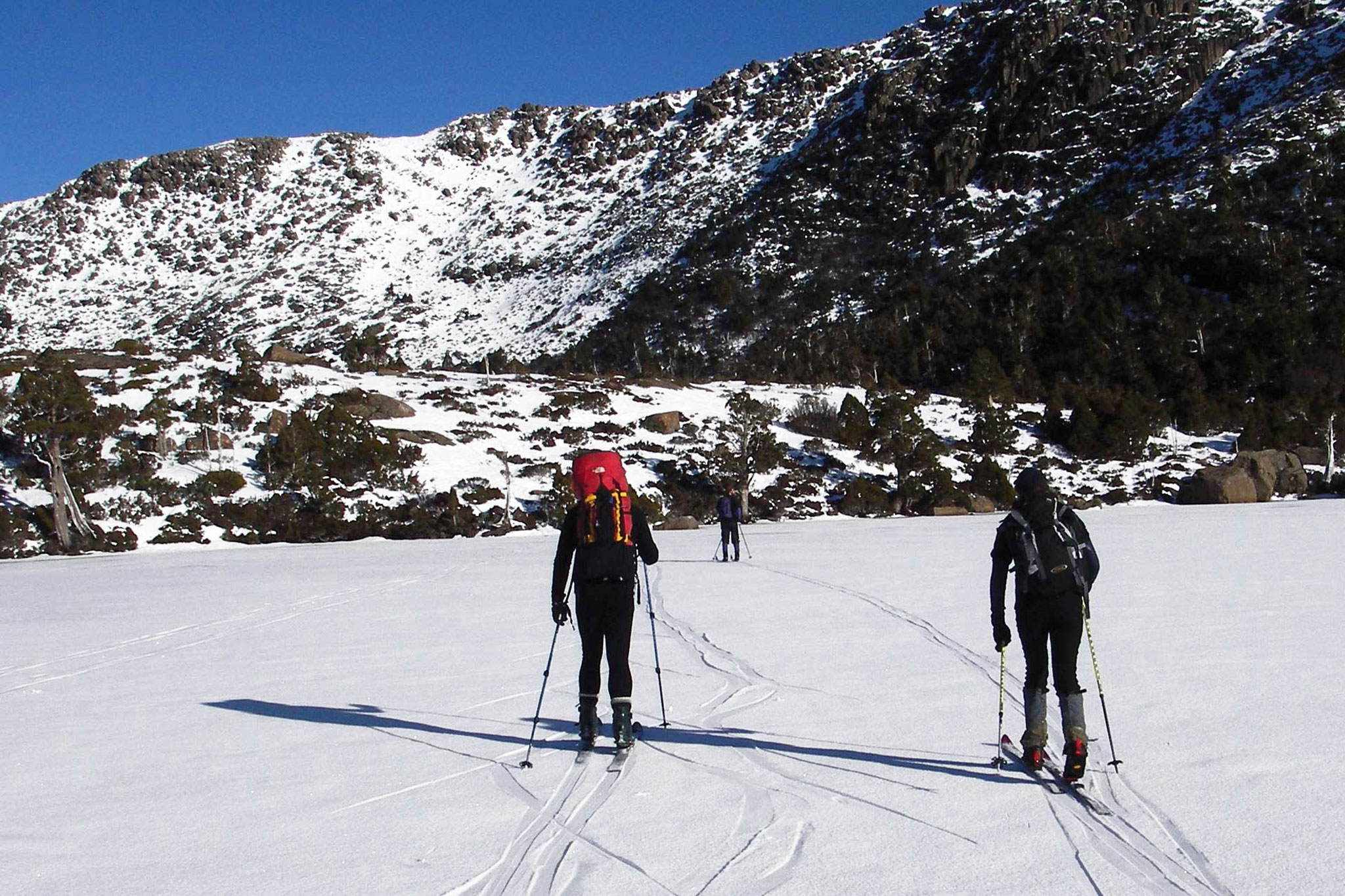 Cross Country Skiing Mount Field National Park